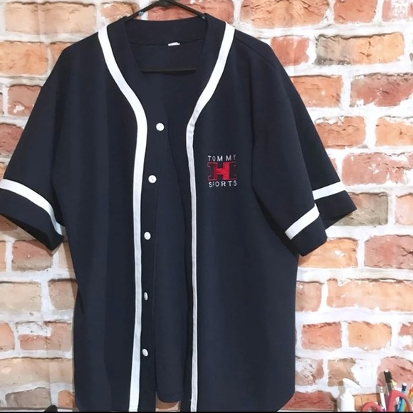 f7acc55fd Tommy Hilfiger Sports Baseball Jersey